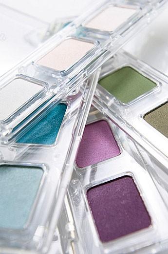 Make-up boxes : Stock Photo