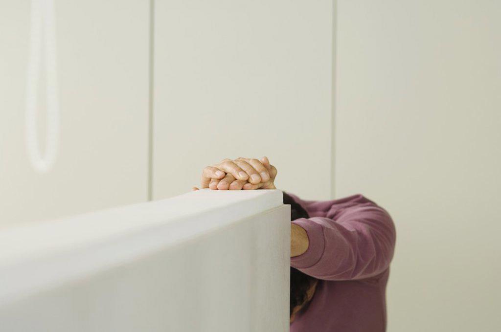 Man indoors : Stock Photo