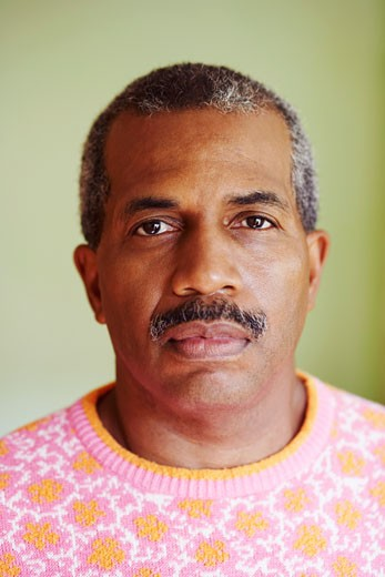 Portrait of a mature man looking serious : Stock Photo