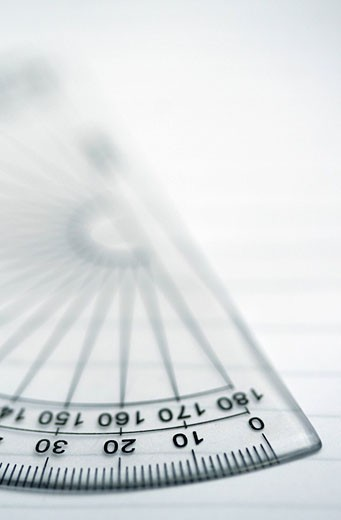 Protractor : Stock Photo
