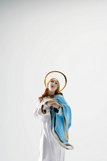 Stock Photo: 1742R-17865 Still_life of Mother Mary, studio shot.