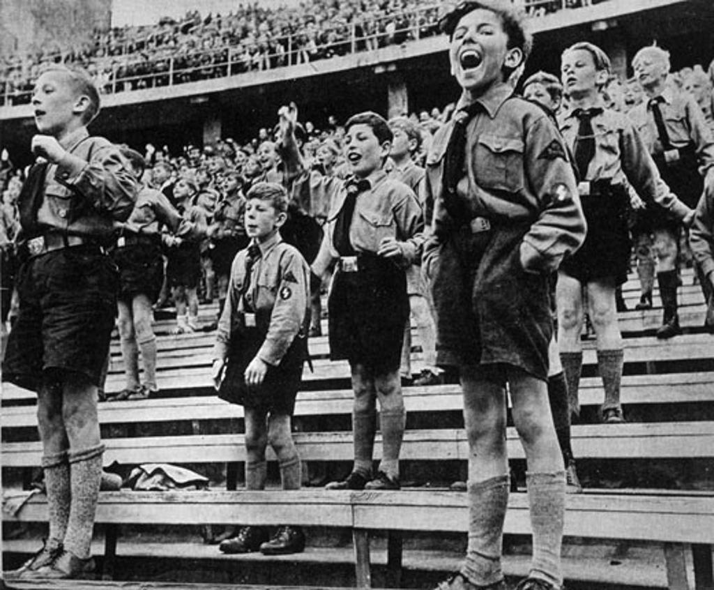 Stock Photo: 1746-1137 Nazi Youth Rally, Germany