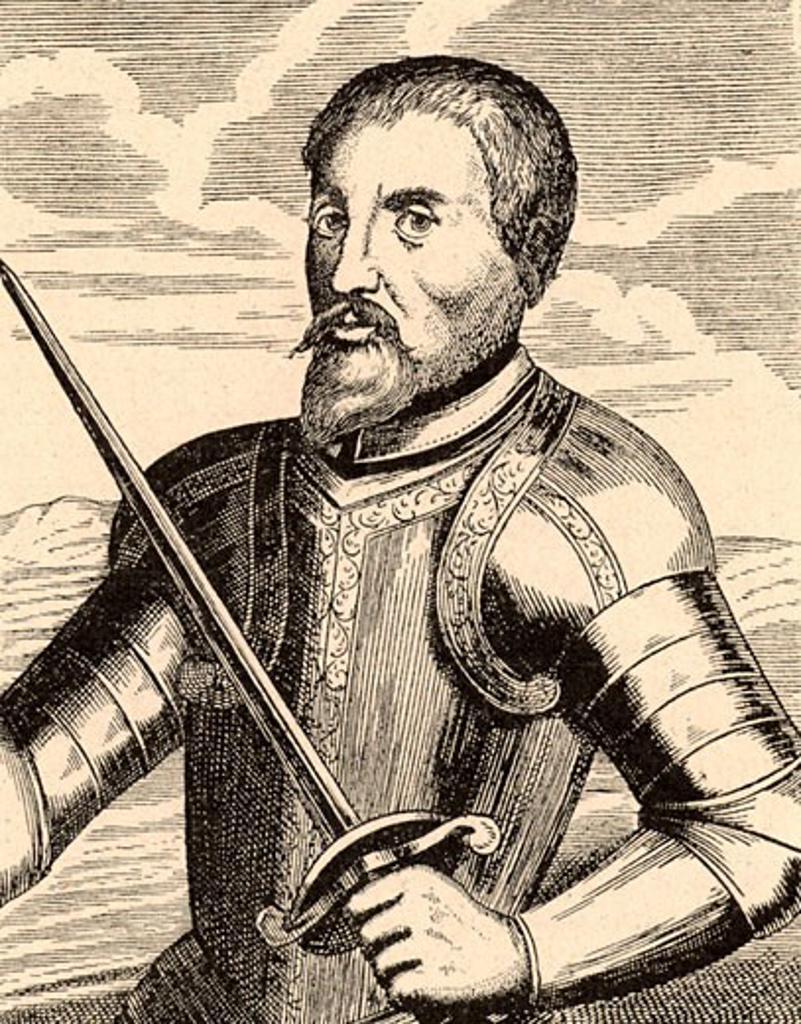 Stock Photo: 1746-129 Hernando de Soto (c1496-1542) Spanish explorer and conquistador