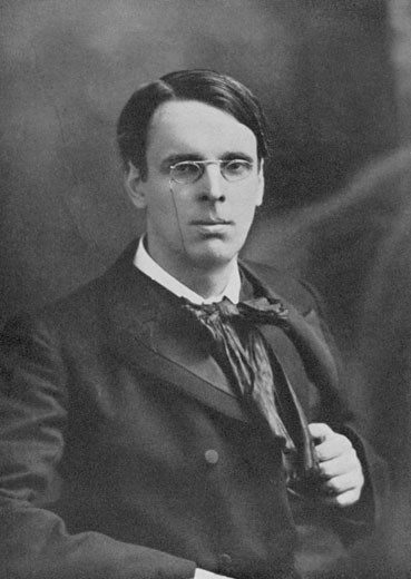 William Butler Yeats, (1865-1939), Irish poet. After photograph by Elliott and Fry : Stock Photo