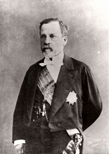 Louis Pasteur, (1822-1895), French chemist and microbiologist in 1852. Photograph : Stock Photo