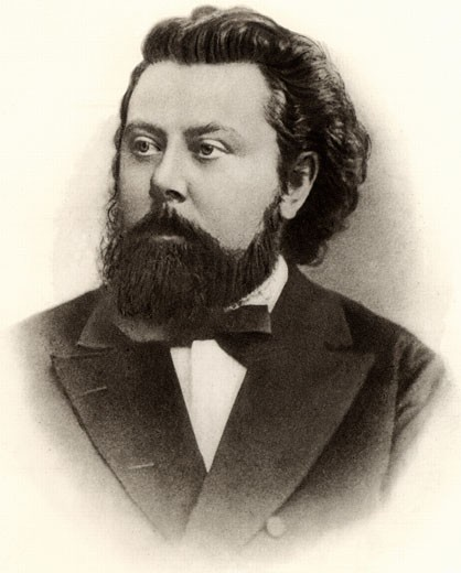 Stock Photo: 1746-1870 Modest Petrovich Mussorgsky, (1839-1881), Russian composer