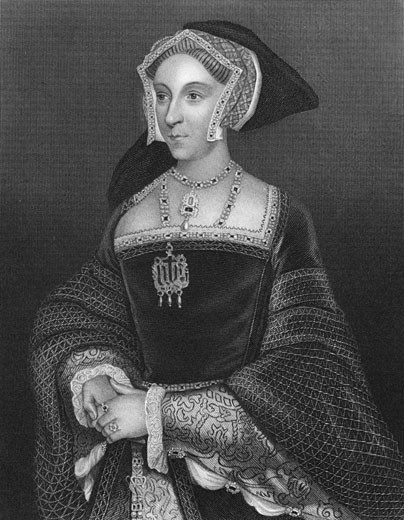 Stock Photo: 1746-2206 Jane Seymour, Third wife of Henry VIII of England