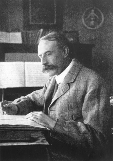 Stock Photo: 1746-2211 Edward Elgar (1857-1934)  English composer