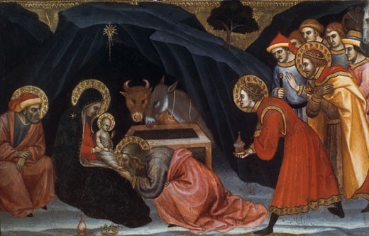 Epiphany Taddeo di Bartolo (ca.1362-ca.1422 Italian) : Stock Photo