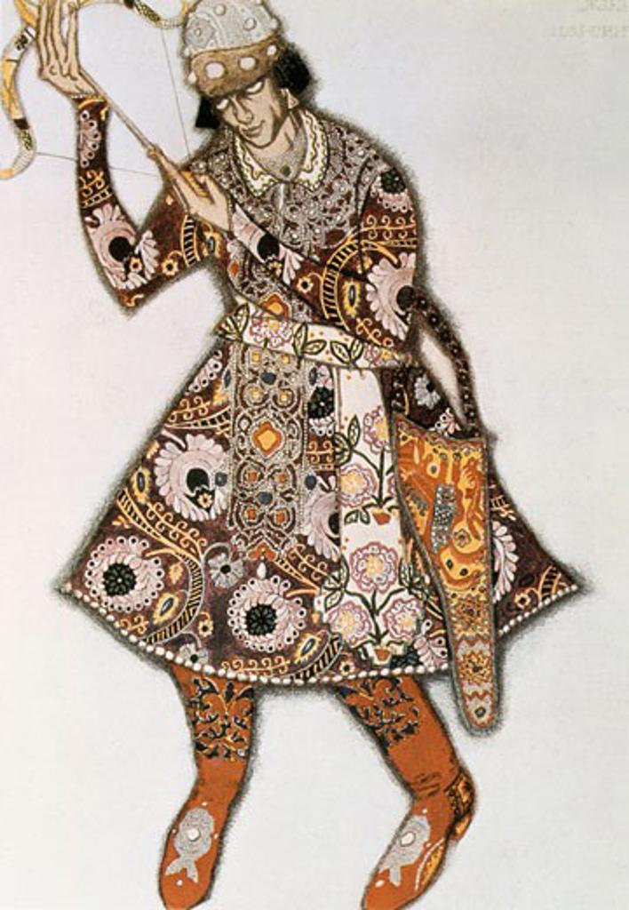 The Tsarevitch by Stravinsky , 1913, Leon Bakst, (1866-1924/Russian) : Stock Photo