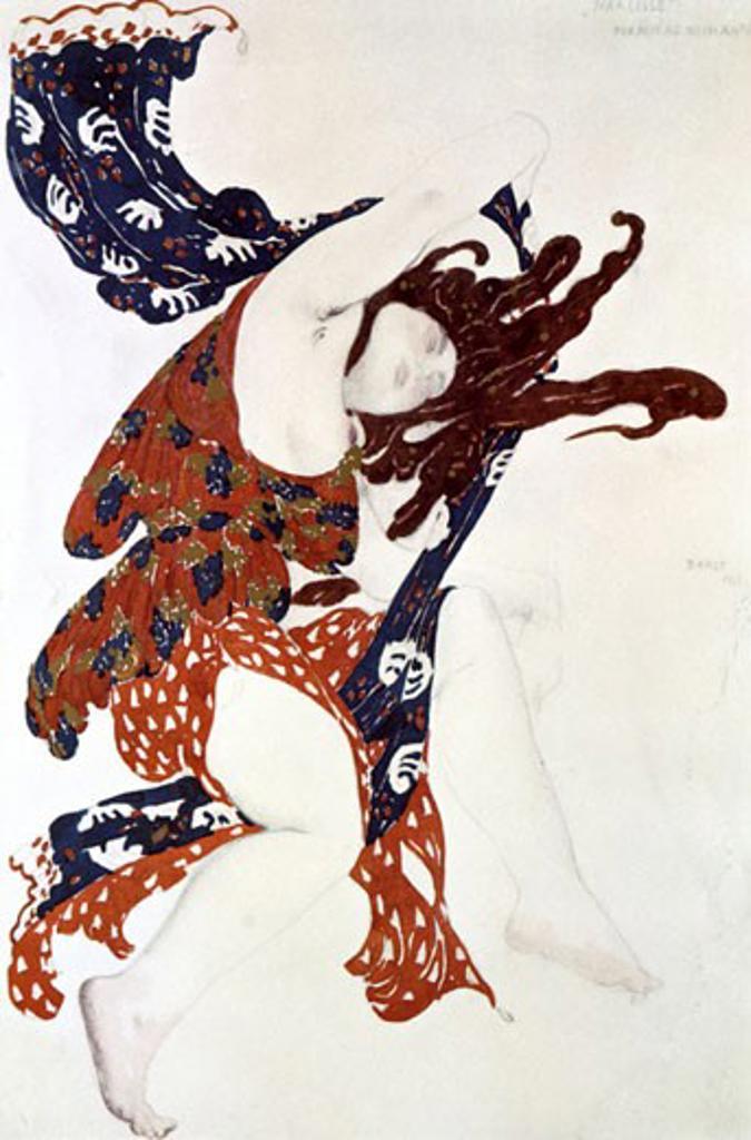 Narcisse, Leon Bakst, (1866-1924/Russian) : Stock Photo