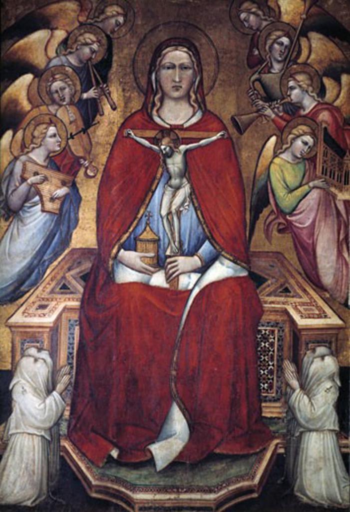 Stock Photo: 1746-2442 St. Mary Magdelene 1375 Spinello Aretino (ca.1346-1410 Italian)