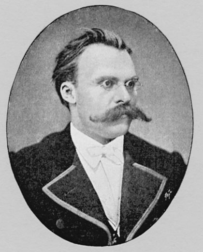 Stock Photo: 1746-268 Friedrich Nietzsche, (1840-1900), German philosopher and writer