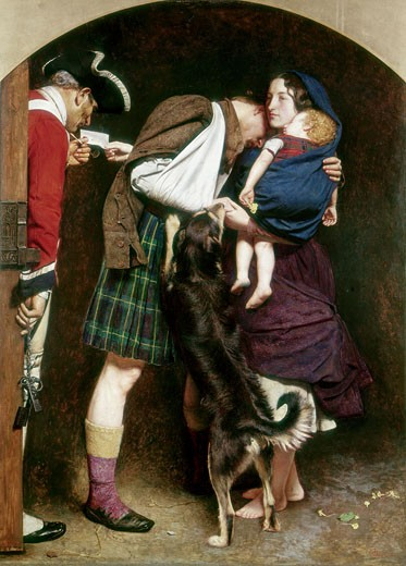 Stock Photo: 1746-2765 The Order of Release, 1746, John Everett Millais, (1829-1896/British), Oil on canvas, Tate Gallery, London, England