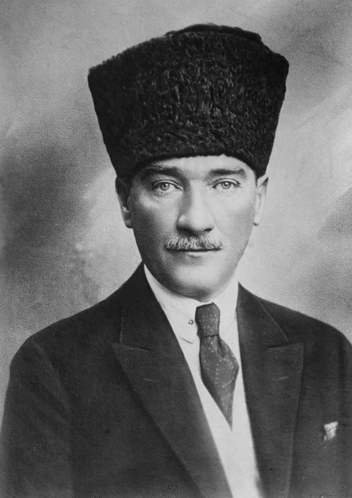 Stock Photo: 1746-3650 Mustafa Kemal Ataturk (1881-1938) Turkish army officer and revolutionary.  Founder and first President of the Turkish Republic 1923-1938. Served in the Ottoman until his resignation in July 1919.  Statesman