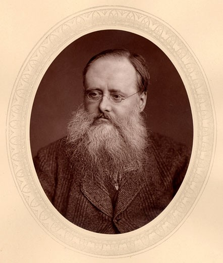 Stock Photo: 1746-734 Wilkie (William) Collins, (1824-1889), English novelist, From Men of Mark by Thompson Cooper (London, c.1880). Woodburytype from photograph by Lock & Whitfield