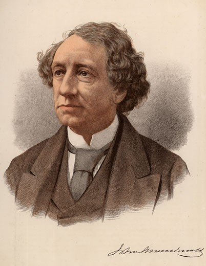 John Alexander MacDonald, First Prime Minister of Canada : Stock Photo
