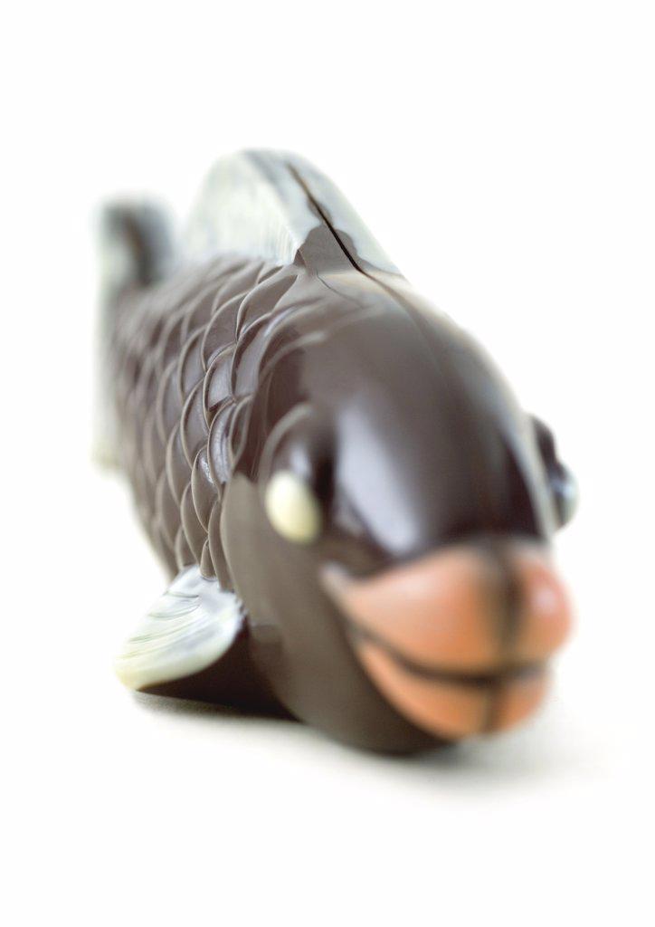 Stock Photo: 1747R-1297 Chocolate fish