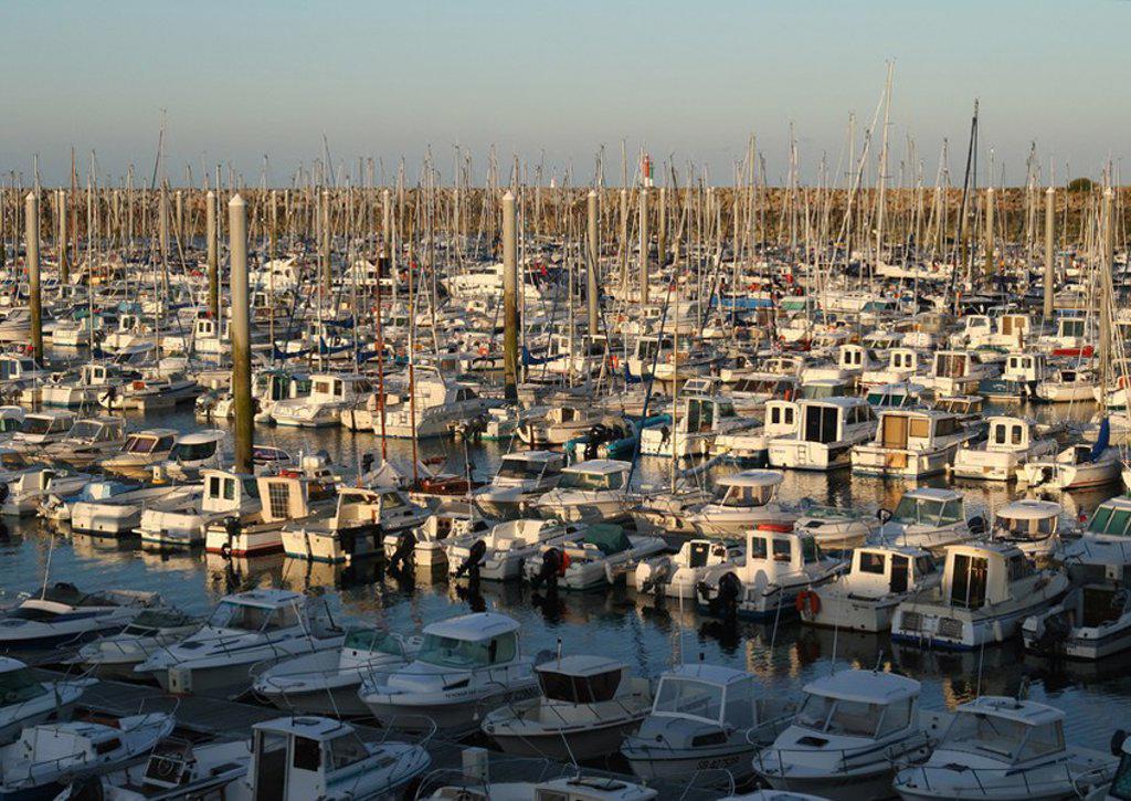 Marina, Brittany region, France : Stock Photo