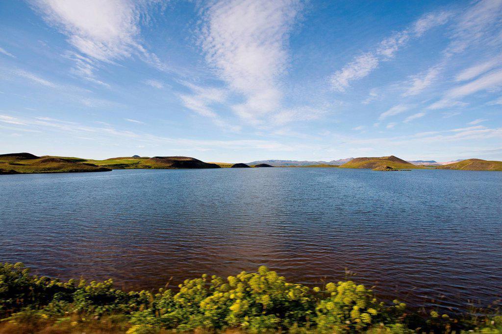 Lake Myvatn, Iceland : Stock Photo