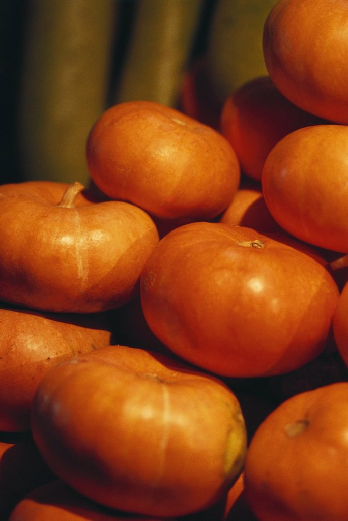Stack of pumpkins : Stock Photo