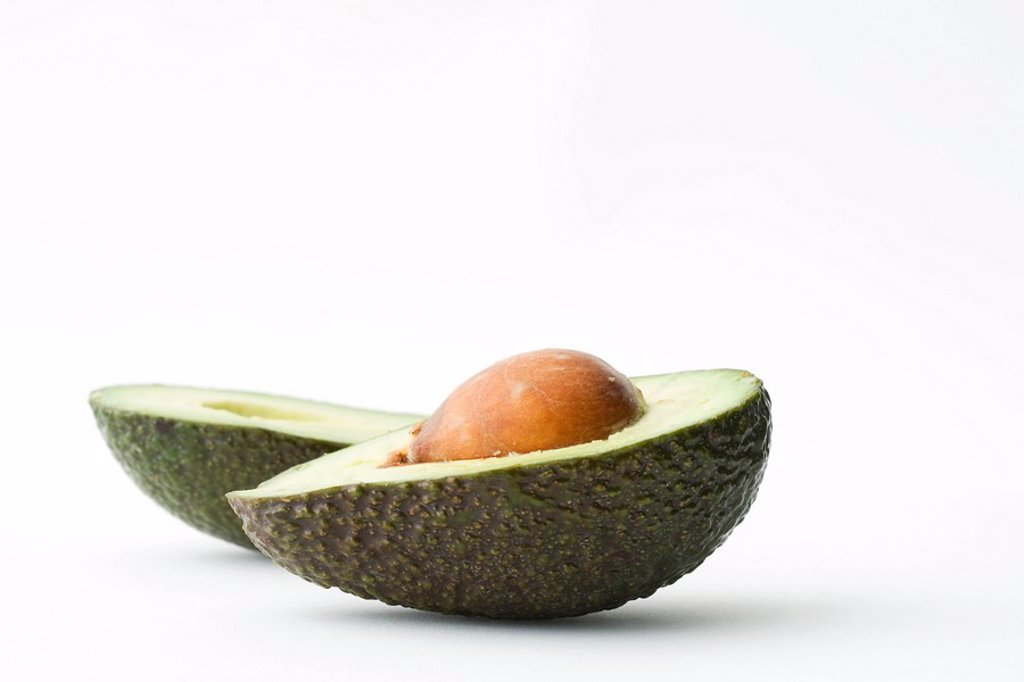 Stock Photo: 1747R-9658 Avocado halves