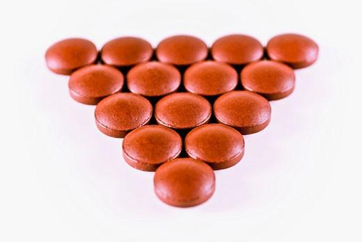 Close-up of pills : Stock Photo