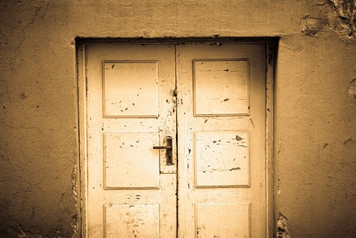 Stock Photo: 1758R-9164 Close-up of a door