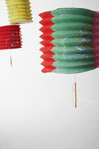 Close-up of paper lanterns : Stock Photo
