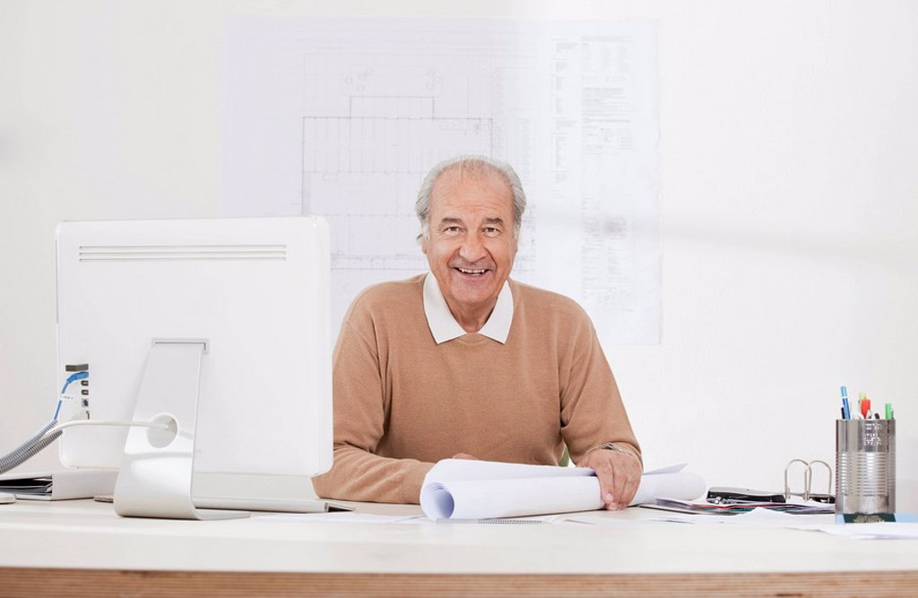 Stock Photo: 1773R-120031 Portrait of senior businessman