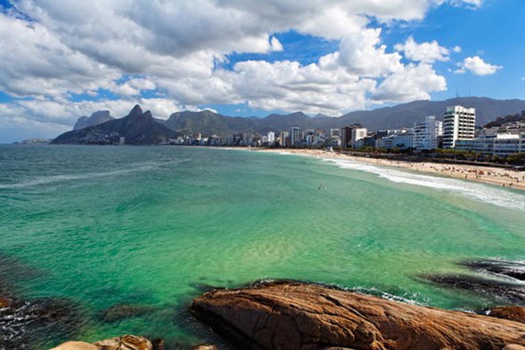 Brazil, Rio de Janeiro, Ipanema Beach : Stock Photo