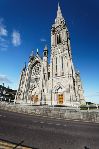 Ireland, County Cork, Cobh, Saint Colman Cathedral : Stock Photo