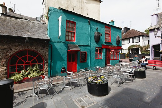 Stock Photo: 1774-711 Ireland, County Cork, Kinsale, Milk Market Square