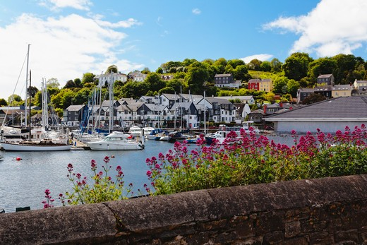 Stock Photo: 1774-714 Ireland, County Cork, Kinsale Harbor