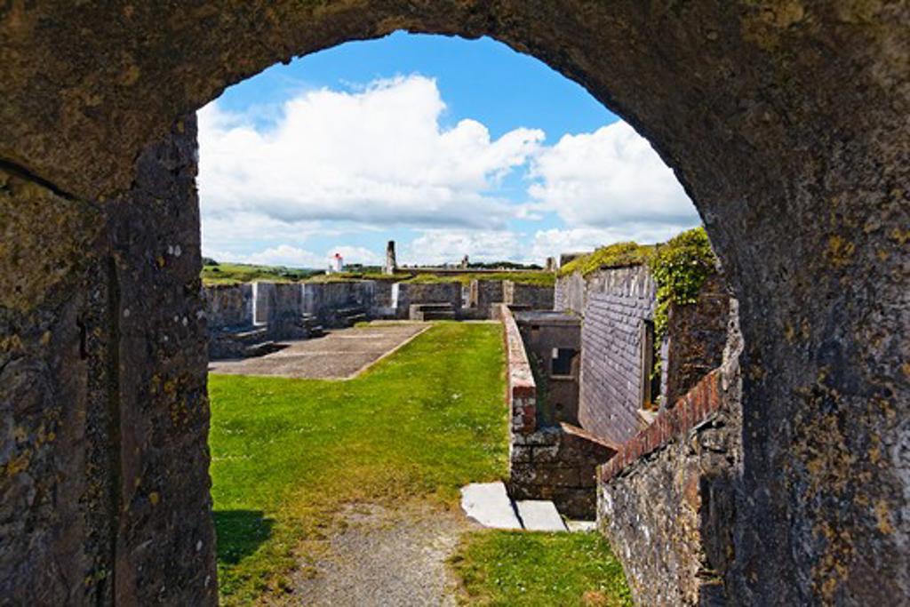 Ireland, County Cork, Kinsale, Charles Fort : Stock Photo