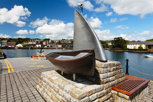 Ireland, County Cork, Kinsale, Maritime cultures in Kinsale Harbor : Stock Photo