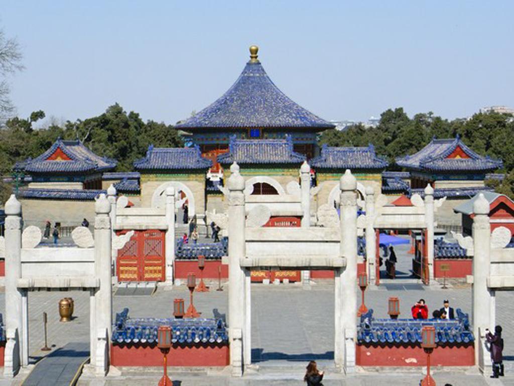 China, Beijing, Temple of Heaven : Stock Photo