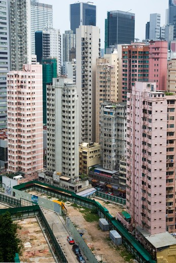 Cityscape, Wanchai, China : Stock Photo