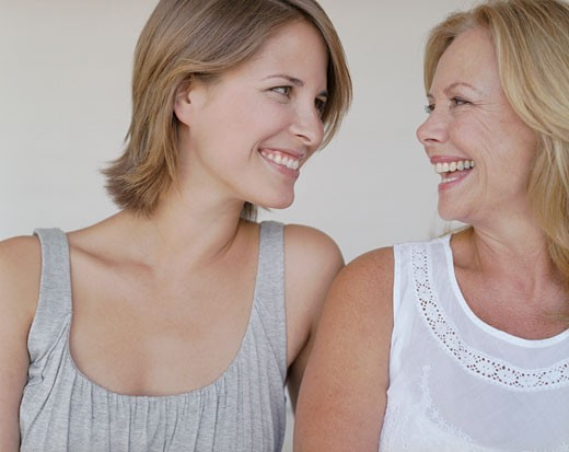 Stock Photo: 1775R-2412 Mother and daughter
