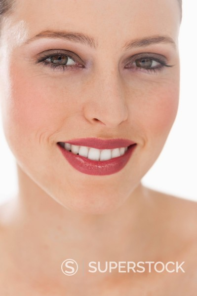 Stock Photo: 1775R-30165 Close up portrait of smiling woman