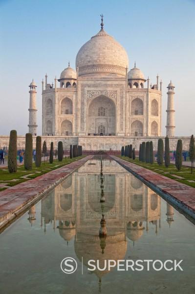 Taj Mahal facade : Stock Photo