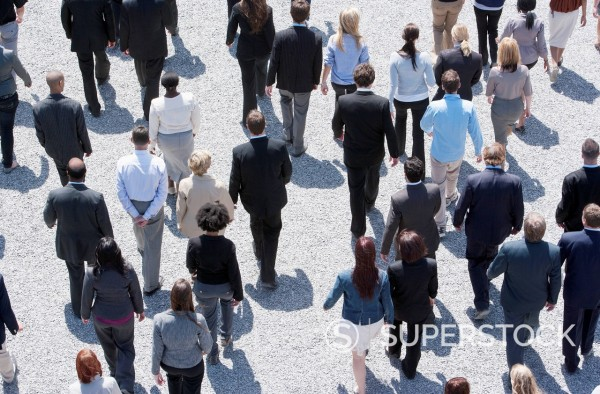 Stock Photo: 1775R-30504 Business people walking