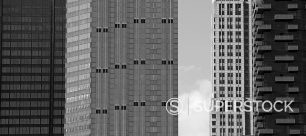 Stock Photo: 1775R-30701 Chicago highrise buildings