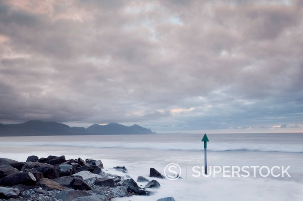 Stock Photo: 1775R-30816 Seascape in North Wales