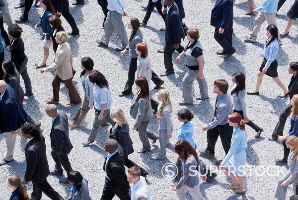 Stock Photo: 1775R-31357 Business people walking