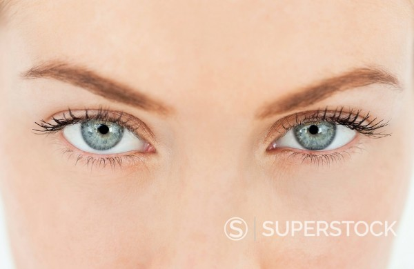 Stock Photo: 1775R-31446 Close up portrait of woman's eyes