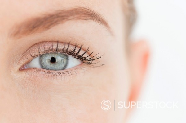 Stock Photo: 1775R-31468 Close up portrait of woman's eye