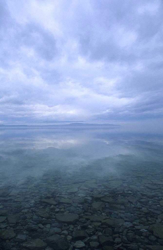 Stock Photo: 1778-9699 A morning on Flathead Lake, Whitefish, Montana