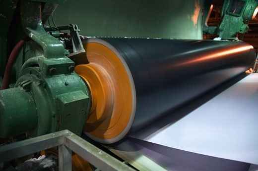 Stock Photo: 1779R-11730 Industrial paper equipment