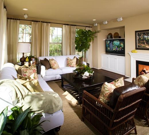 Stock Photo: 1779R-13183 Living room design